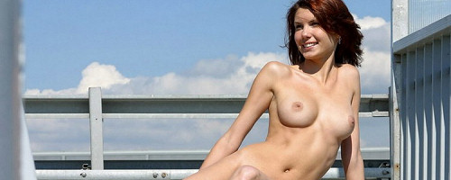 Naked by the highway