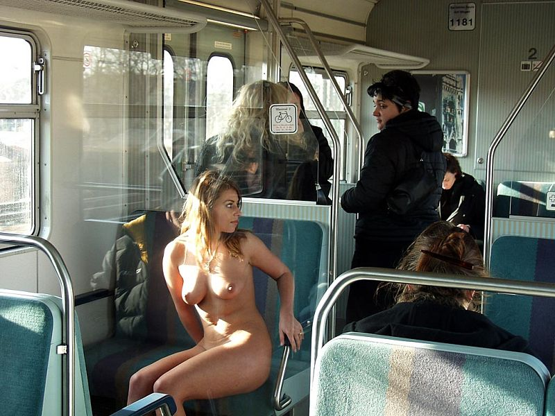 Better, japanese nude in train are
